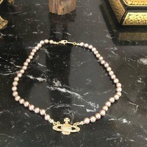 Vivienne Westwood Mini Bas Relief Choker Necklace